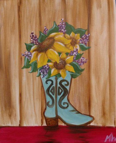 Flower vase - Boot