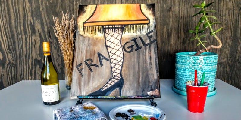 Christmas Story Lamp Painting
