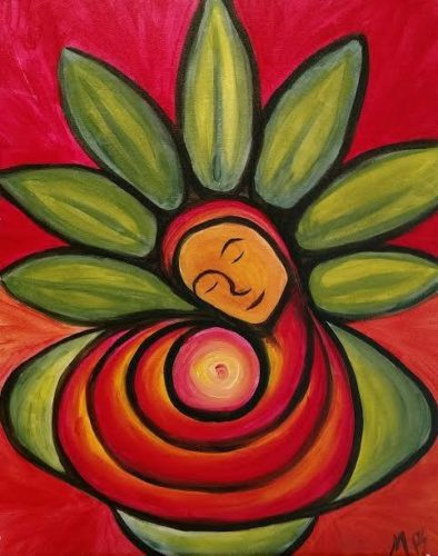 holiday-flower-painting