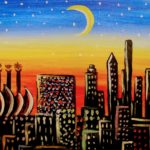 KC moon painting party