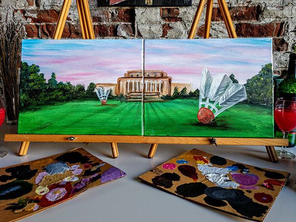 Nelson Atkins painting party