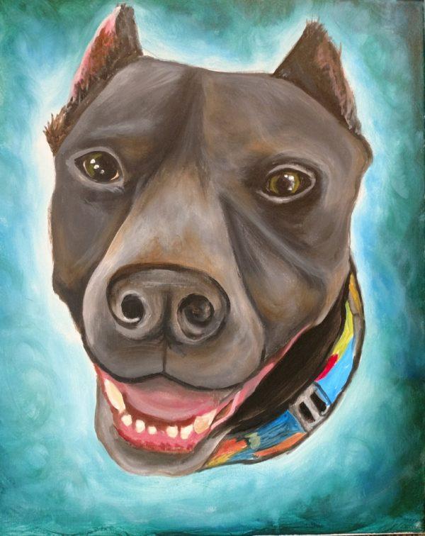 Pet portrait painting parties in Kansas City, Missouri