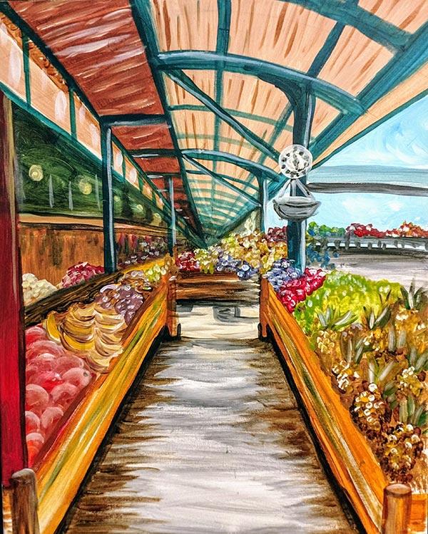 River Market Painting Kansas City