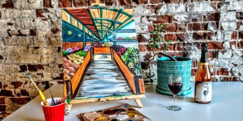 River Market Painting Party - Kansas City, MO