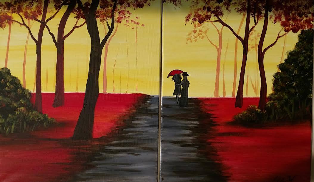 Valentine's Day painting party