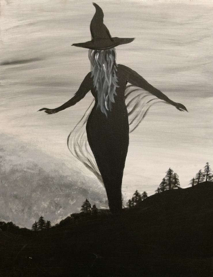Witch - Halloween Painting Party
